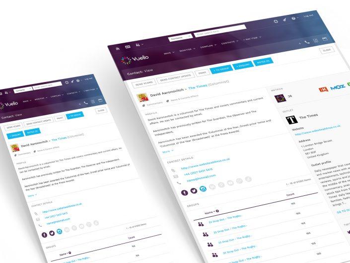 Super User Studio - Vuelio media database